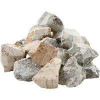 Vuolukivi, Lajitelman sisältö voi vaihdella , värilajitelma, 5x10 kg/ 1 pkk
