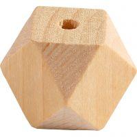 Timanttihelmi, Lev: 20 mm, aukon koko 3 mm, 6 kpl/ 1 pkk