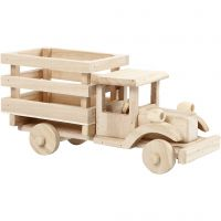 Kuorma-auto, Kork. 11 cm, Pit. 22 cm, Lev: 7,5 cm, 1 kpl