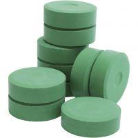 Tempera-maali, Kork. 19 mm, halk. 57 mm, vihreä, 10 kpl/ 1 pkk