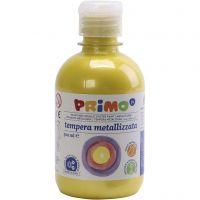 PRIMO metallic- maali, keltainen, 300 ml/ 1 pkk