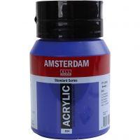 Amsterdam- akryylimaali, kuulto, ultra marine, 500 ml/ 1 pll