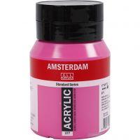 Amsterdam- akryylimaali, peittävä, permanent red violet (577), 500 ml/ 1 pll