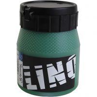 Linoväri, vihreä, 250 ml/ 1 tb