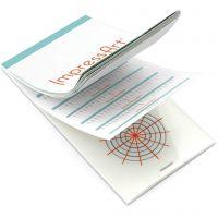 Pakotuskaavalehtiö riipuksille ja rannekoruille, koko 6,5x13 cm, 1 kpl