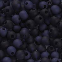 Muovihelmet, halk. 6 mm, aukon koko 2 mm, sininen, 40 g/ 1 pkk