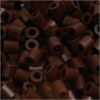 Nabbi- putkihelmet, koko 5x5 mm, aukon koko 2,5 mm, medium, ruskea (32229), 1100 kpl/ 1 pkk