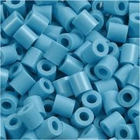 Nabbi- putkihelmet, koko 5x5 mm, aukon koko 2,5 mm, medium, turkoosi (32256), 6000 kpl/ 1 pkk