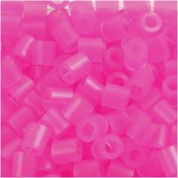Nabbi- putkihelmet, koko 5x5 mm, aukon koko 2,5 mm, medium, rosa neon (32257), 1100 kpl/ 1 pkk