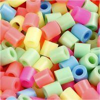 Nabbi- putkihelmet, koko 5x5 mm, aukon koko 2,5 mm, medium, pastellivärit, 6000 laj/ 1 pkk