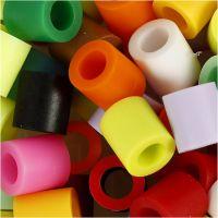 Putkihelmet, koko 10x10 mm, aukon koko 5,5 mm, JUMBO, Lisävärit, 3200 laj/ 1 pkk