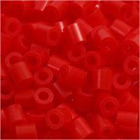 PhotoPearls- helmet, koko 5x5 mm, aukon koko 2,5 mm, punainen (19), 1100 kpl/ 1 pkk