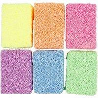 Soft Foam, neonvärit, 6x10 g/ 1 pkk
