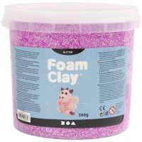 Foam Clay®, kimalle, violetti, 560 g/ 1 prk