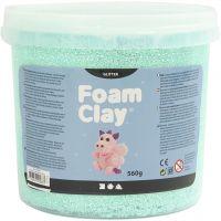 Foam Clay®, kimalle, vaaleanvihreä, 560 g/ 1 prk