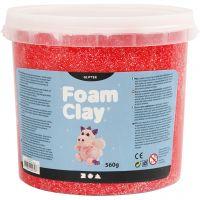 Foam Clay®, kimalle, punainen, 560 g/ 1 prk