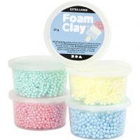 Foam Clay Extra Large, värilajitelma, 5x25 g/ 1 pkk