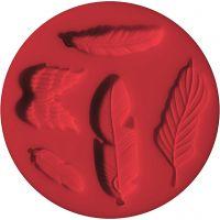 FIMO® silikonimuotti, höyhenet, halk. 7 cm, 1 kpl