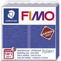 FIMO® Leather Effect, indigo (309), 57 g/ 1 pkk