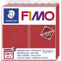 FIMO® Leather Effect, watermelon (249), 57 g/ 1 pkk