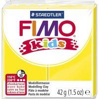 FIMO® Kids Clay , keltainen, 42 g/ 1 pkk