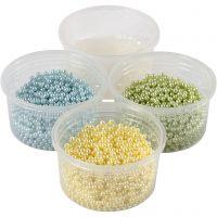 Pearl Clay®, vaaleansininen, vaaleanvihreä, vaaleankeltainen, 1 set, 3x25+38 g
