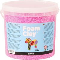 Foam Clay® Helmimassa, neonpinkki, 560 g/ 1 prk