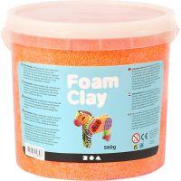 Foam Clay® Helmimassa, neonoranssi, 560 g/ 1 prk