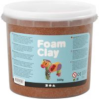Foam Clay® Helmimassa, ruskea, 560 g/ 1 prk
