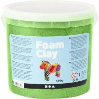 Foam Clay®, metallinen, vihreä, 560 g/ 1 prk