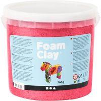 Foam Clay®, metallinen, punainen, 560 g/ 1 prk