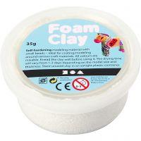 Foam Clay® Helmimassa, valkoinen, 35 g/ 1 tb