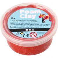 Foam Clay® Helmimassa, punainen, 35 g/ 1 tb