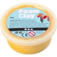 Foam Clay® Helmimassa, keltainen, 35 g/ 1 tb