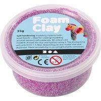 Foam Clay® Helmimassa, neonlila, 35 g/ 1 tb