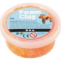 Foam Clay® Helmimassa, neonoranssi, 35 g/ 1 tb