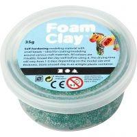 Foam Clay® Helmimassa, tummanvihreä, 35 g/ 1 tb