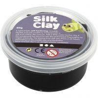 Silk Clay® silkkimassa, musta, 40 g/ 1 tb