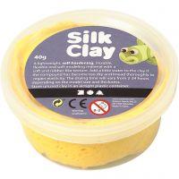 Silk Clay® silkkimassa, keltainen, 40 g/ 1 tb
