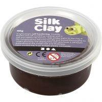 Silk Clay® silkkimassa, ruskea, 40 g/ 1 tb