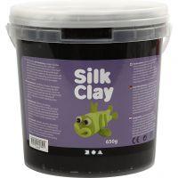 Silk Clay® silkkimassa, musta, 650 g/ 1 prk