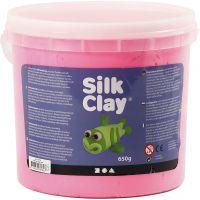 Silk Clay® silkkimassa, pinkki, 650 g/ 1 prk