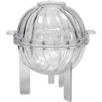 Kynttilämuotti, spiraalipallo, Kork. 70 mm, 1 kpl