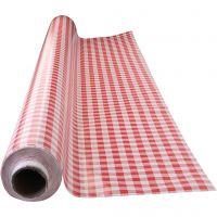Vahakangas, Punaiset ruudut, Lev: 140 cm, punainen, valkoinen, 1 jm