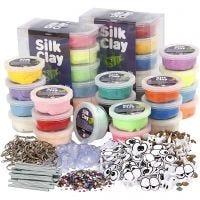 Silk Clay- askartelupakkaus, iso, 1 set