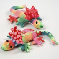 3D Puff Linerilla koristellut kangasliskot
