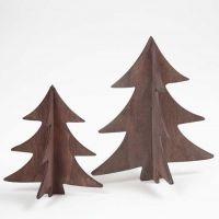 Maalatut puiset 3D-kuuset