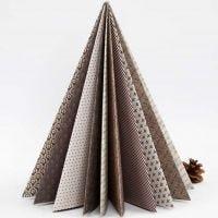 Vivi Gade Design paperista taiteltu joulukuusi