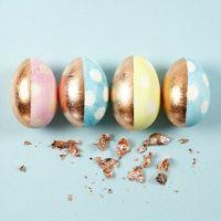 Pastellia ja kuparia munissa