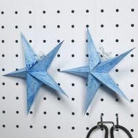Kimallemaalilla maalattu tähti